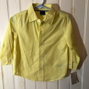 New with tag Nautica boys 18m long sleeve yellow